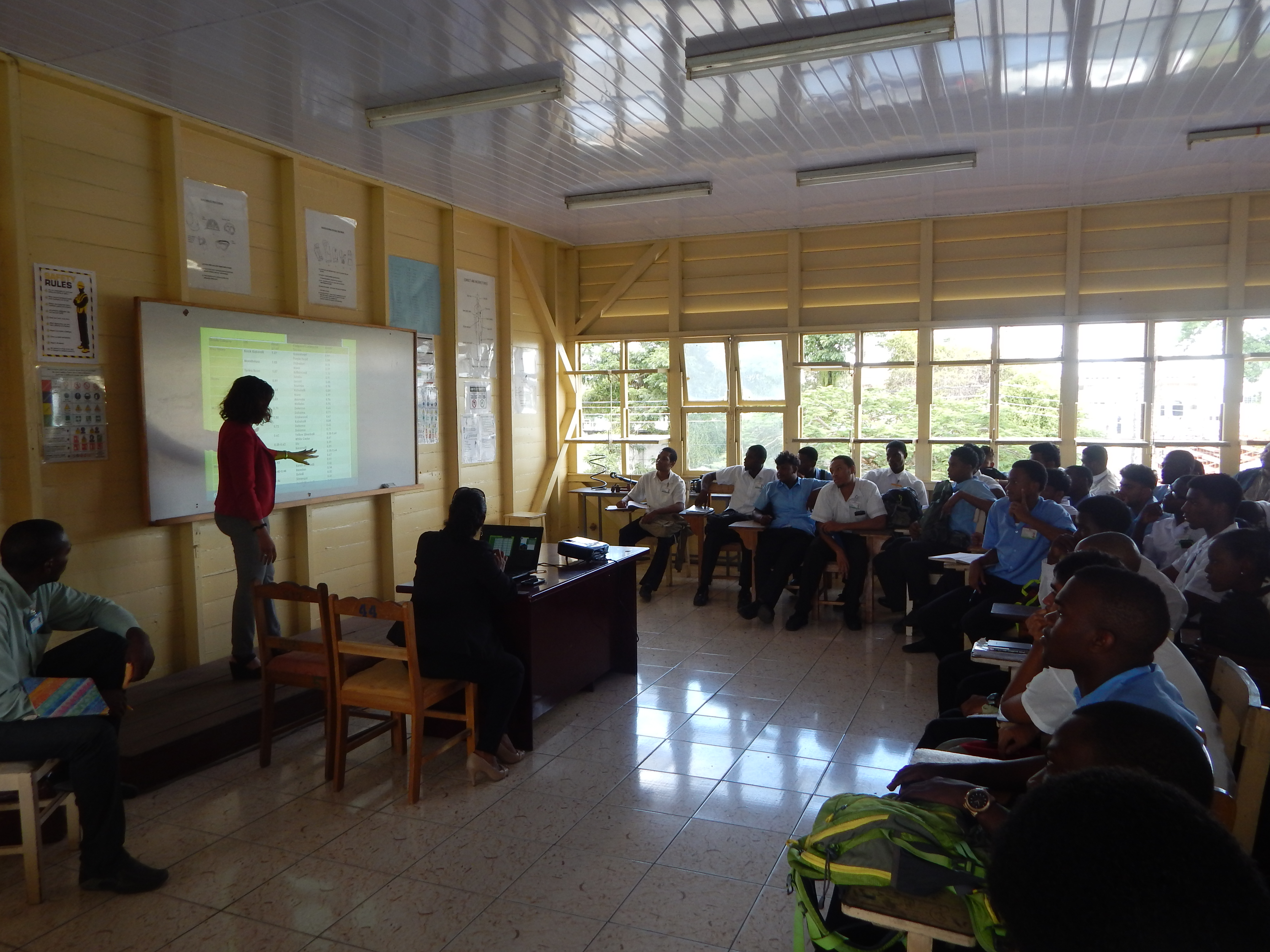 Training and Sensitization on Marketing and Use of Wood